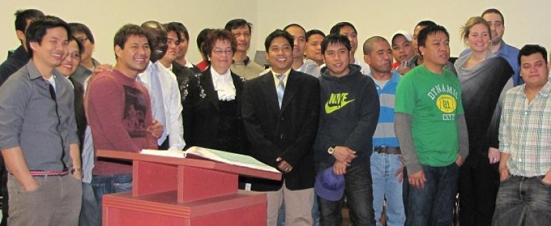 Vingt nouveaux résidents Philippins à Saint-Alexandre