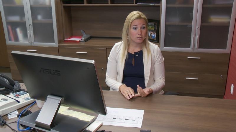 Stéphanie Poitras, nouvelle présidente du conseil d'administration de la corporation du Collège Notre-Dame